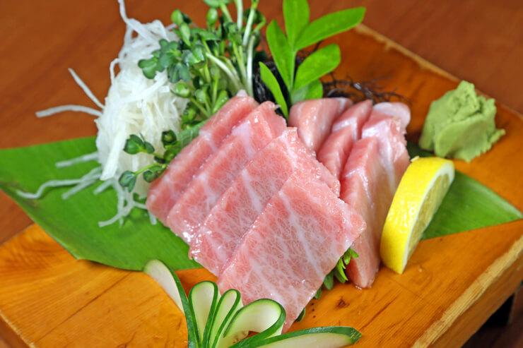 赤坂レストランの大トロ