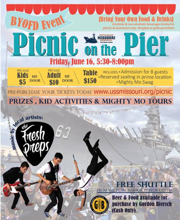 戦艦で楽しむピクニック