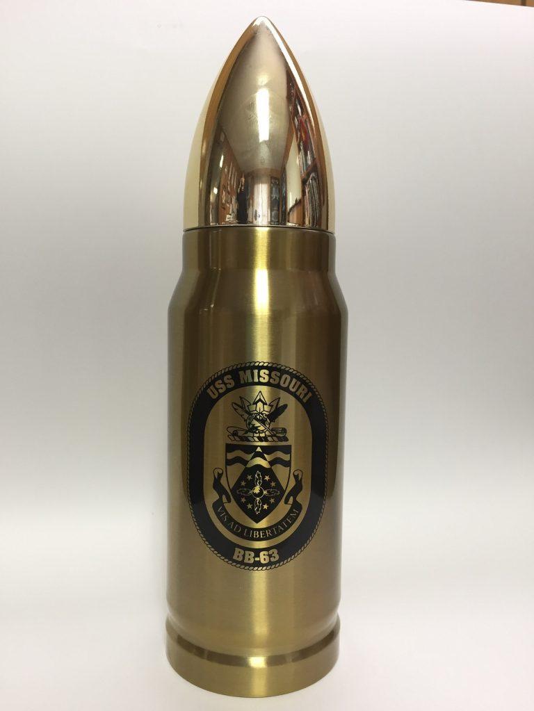 砲弾型の水筒