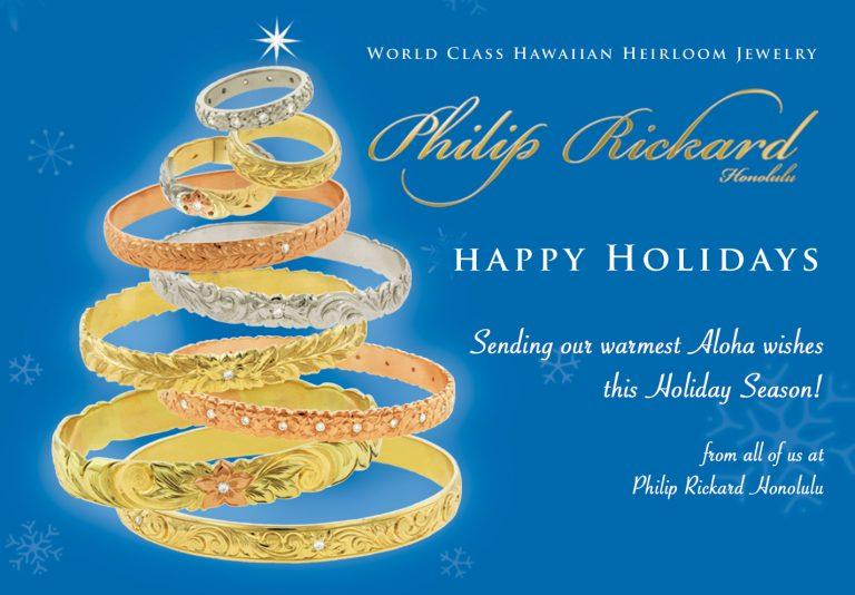 HAPPY HOLIDAYS from Philip Rickard