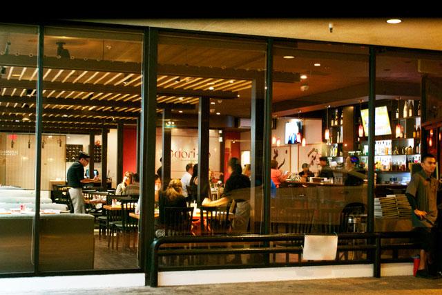 モダンな和食店に移転新装オープンしました