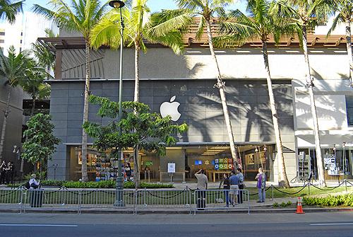 ハワイ最大のアップル・ストアがオープン!