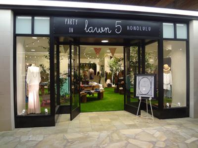 Party on Lawn 5が期間限定オープン!