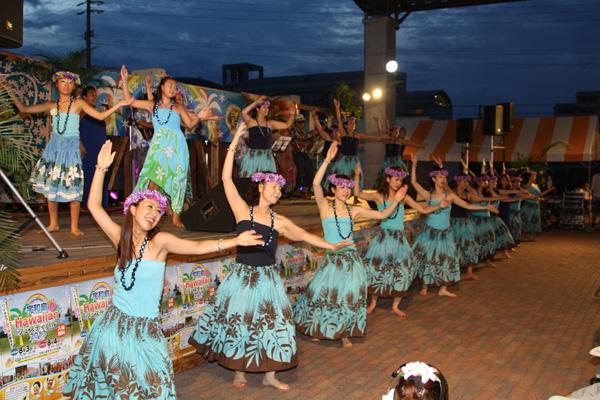 宇和島ハワイアンフェスティバル開催