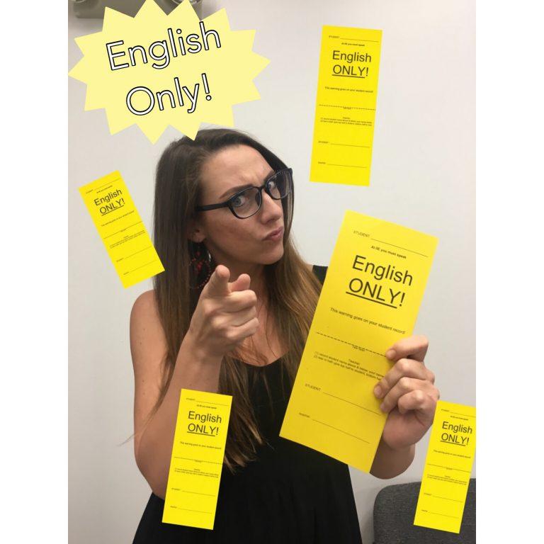 【英語習得メソッド】English Only Policy