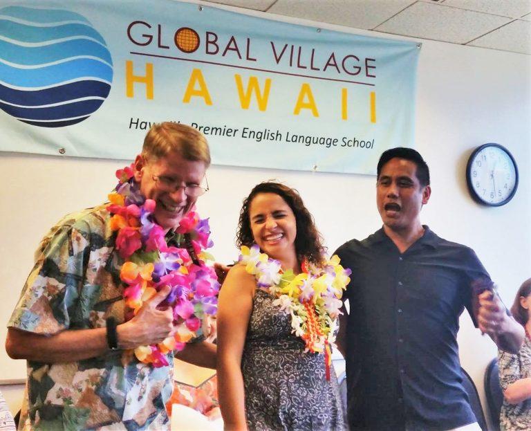 GVハワイの卒業式
