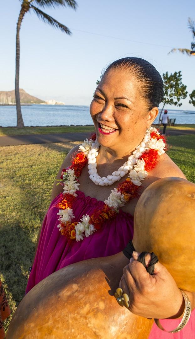 ハワイで英語+フラレッスン