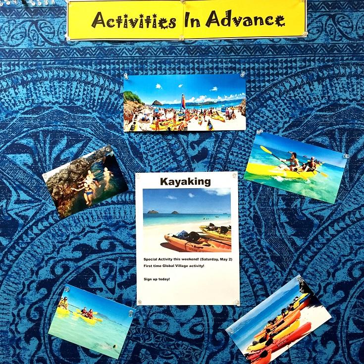 ラニカイ沖の島へカヤック体験!