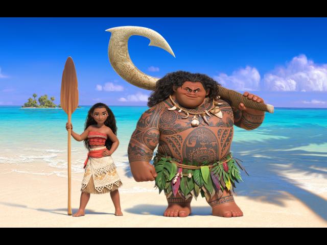 ★今、ハワイで一番人気の映画 Moana!