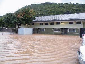 ★Flash Flood Warningが鳴り響いた週末