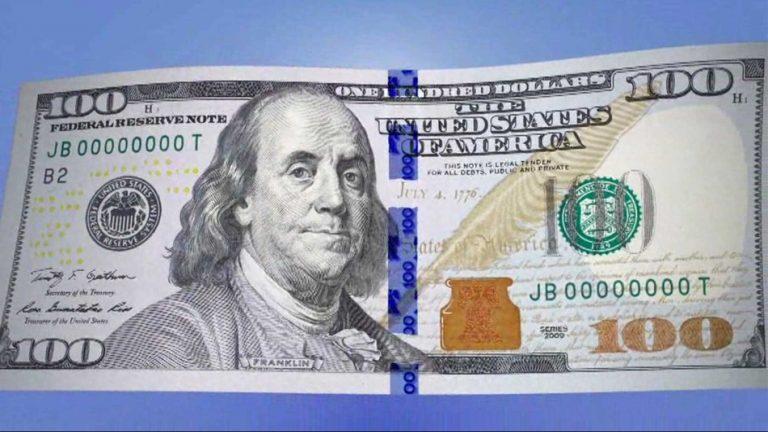 ★ついに新しい100ドル札が手元に!!