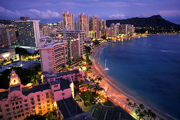 ♥ ハワイが世界生活環境調査で全米NO1