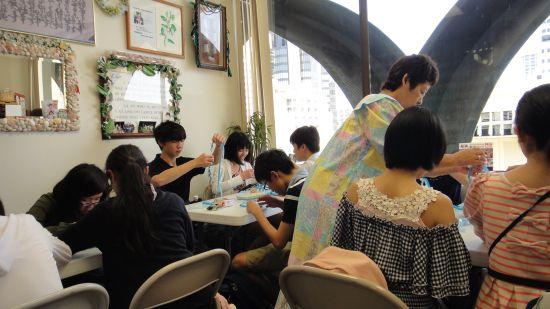 静岡大学教育学部付属浜松中学の生徒さん達