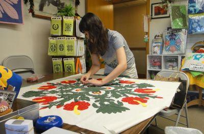 クリスマスツリースカートに挑戦