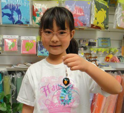 7才のミサちゃん。可愛いのを作りました!
