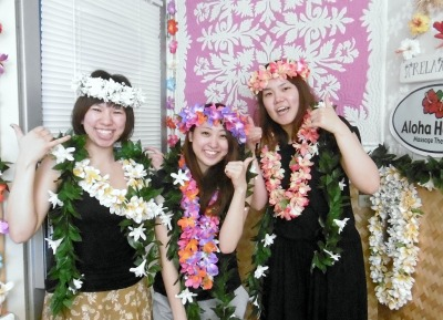 元気をもらってステキなハワイのスタート!