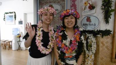 初ハワイ/初ロミロミ/ 良かったです。