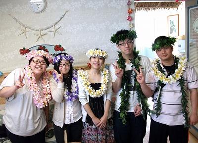 沖縄から来られた仲良し5人組