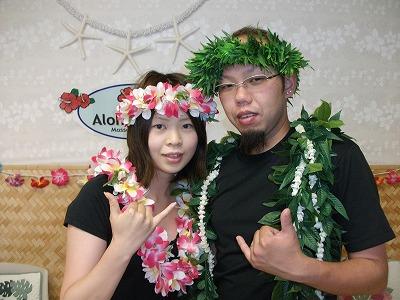 ハワイのハネムーンはロミロミがマストです