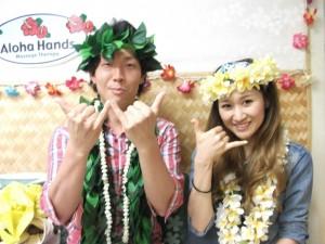 新婚旅行@ハワイでロミロミ初体験!