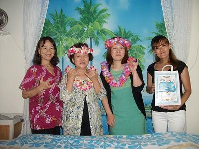 ハワイに来る度にロミロミが楽しみ
