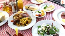 朝食はイタリアンブレックファストで決まり