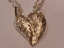 ☆☆Heart Pair Pendant☆☆