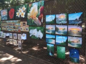 ハワイではアートも盛ん!!