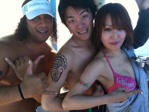 みんなでタトゥー体験しよう!