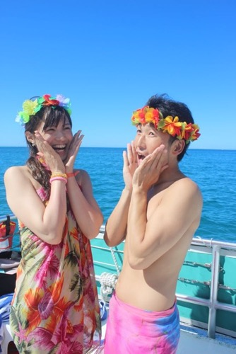 結婚2周年記念にドルフィンスイミング!