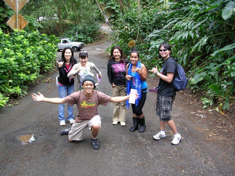 Manoa Falls Hiking!