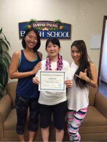 ハワイの自然とマナを感じて学ぶ英語とヨガ