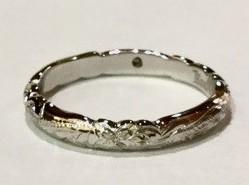プラチナハワイアン結婚指輪