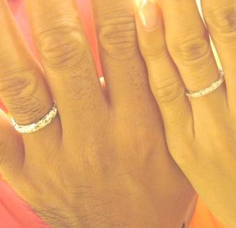ご結婚指輪をコアナニで
