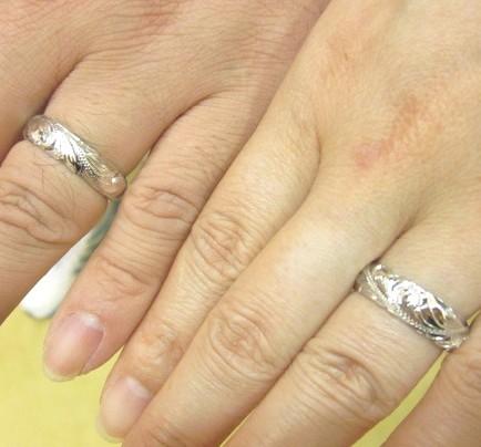 結婚指輪をコアナニで