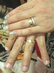 結婚指輪をコアナニホヌリングで