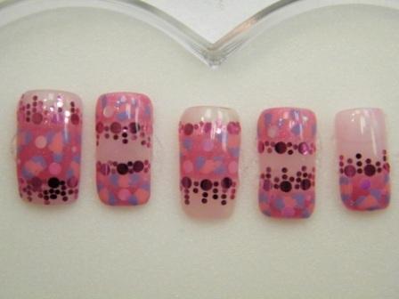 ピンク×ラベンダー豹&ホロ
