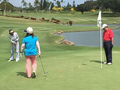 ハワイでゴルフ!なら送迎もお任せください