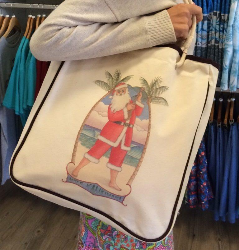 ハワイのサンタ、エコバッグ