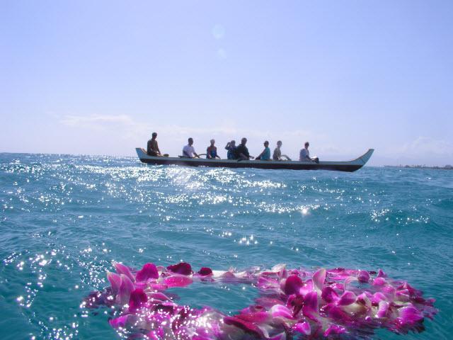 ハワイを愛していた親愛のご家族にサヨナラ