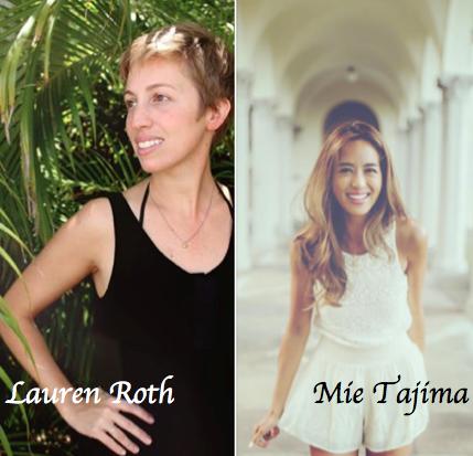 Mie Tajima&Lauren Rothのアートイベント!