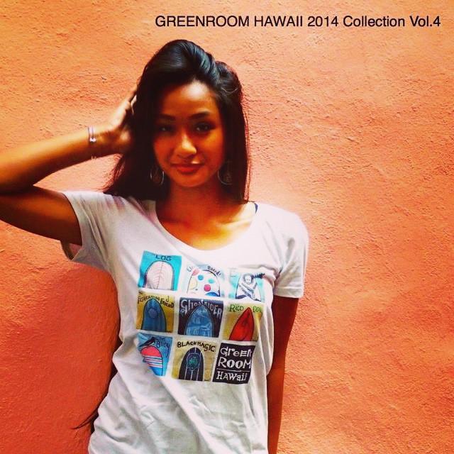 Green Room Hawaii オリジナルTシャツ