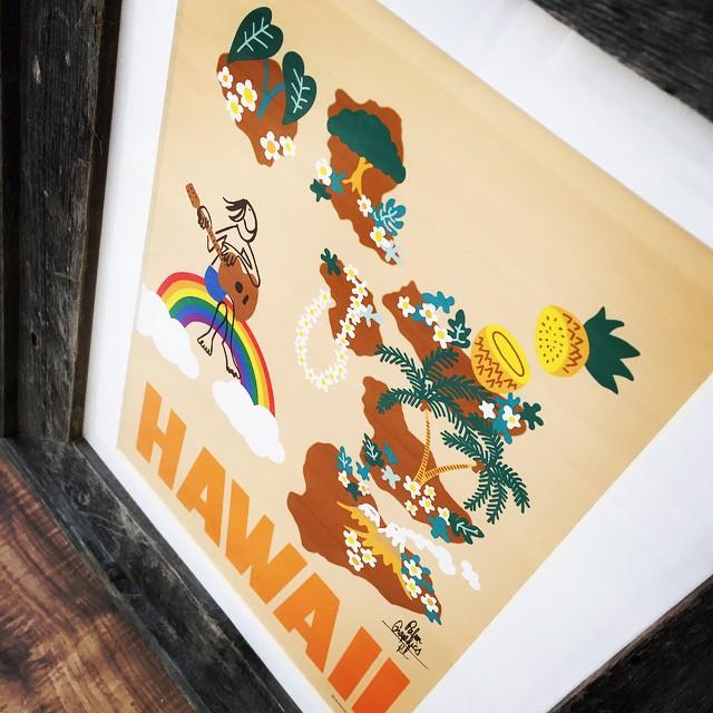 Hawaiiなお土産アートなバージョン♪