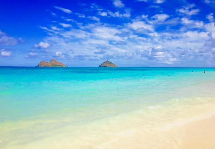 Let's go to Lanikai beach