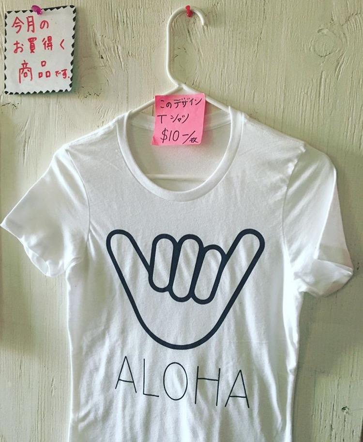 お揃いTシャツ($10)でラニカイへ!