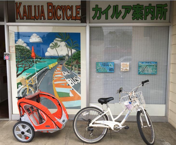 子供乗せけん引自転車ありますよ!!
