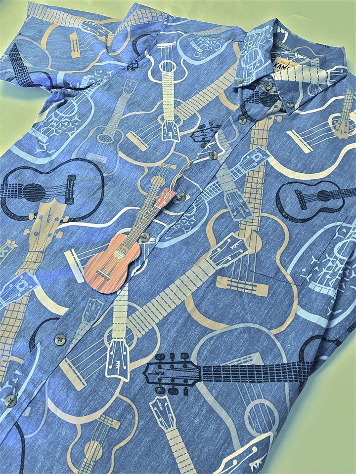 カマカとレインスプーナーのコラボシャツ