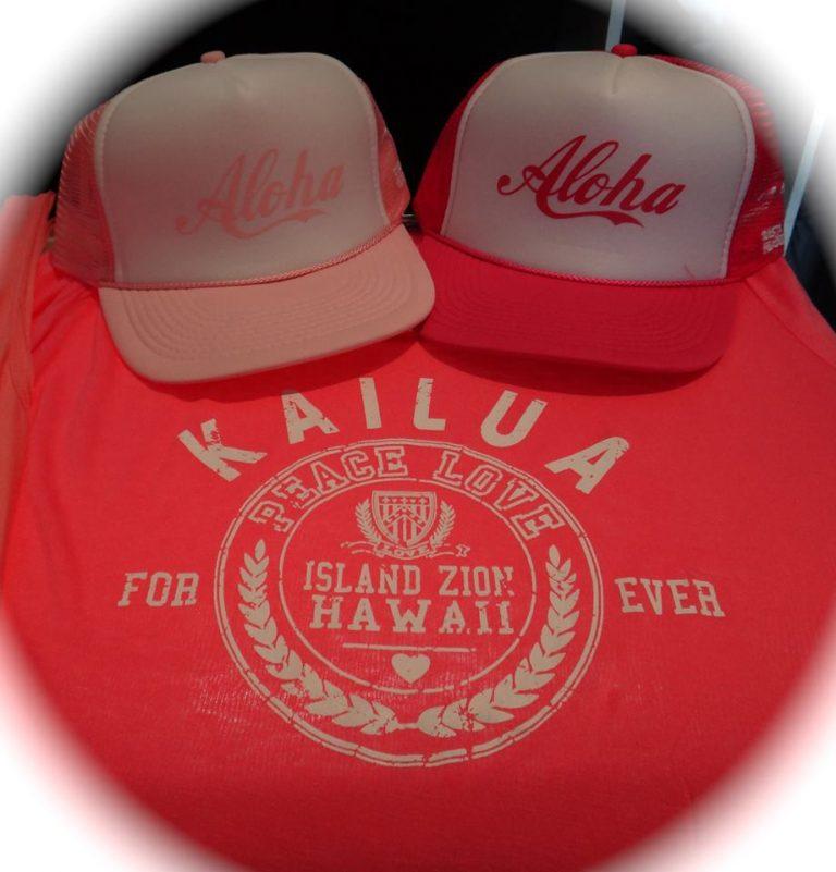 New Aloha design cap!