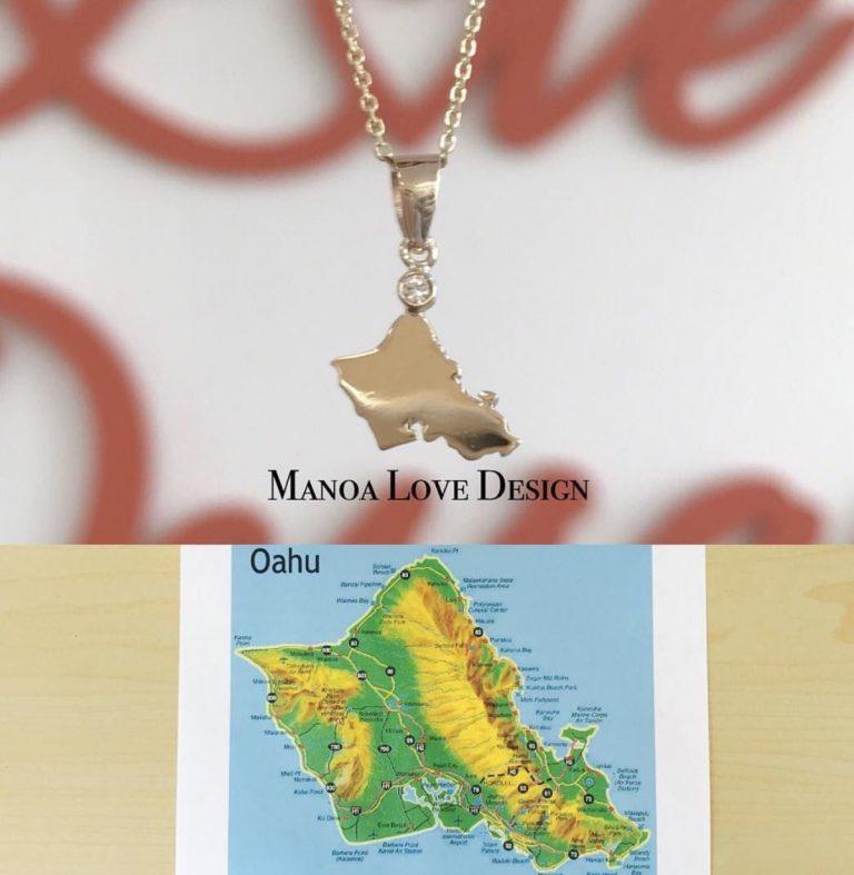 新作オアフ島ネックレス❤️