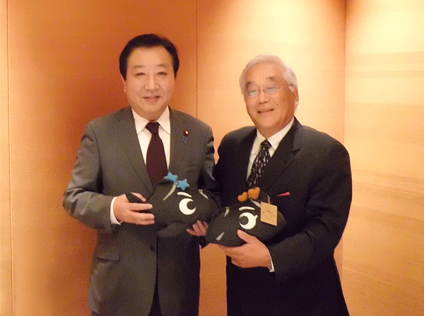 野田前総理が、「この活動はいいですね。」